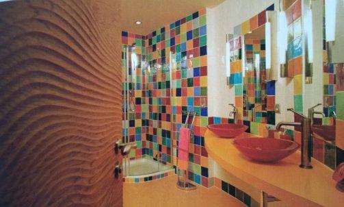 création originale de salle de bain
