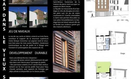 Extension-Rénovation au centre de Saint Brieuc