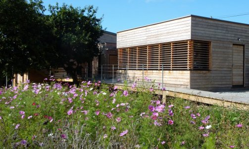 maison neuve passive à Beg-Leguer Commune de Lannion
