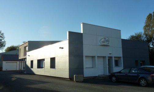 Rénovation avec extension d'un bâtiment industriel à Graces-Guingamp